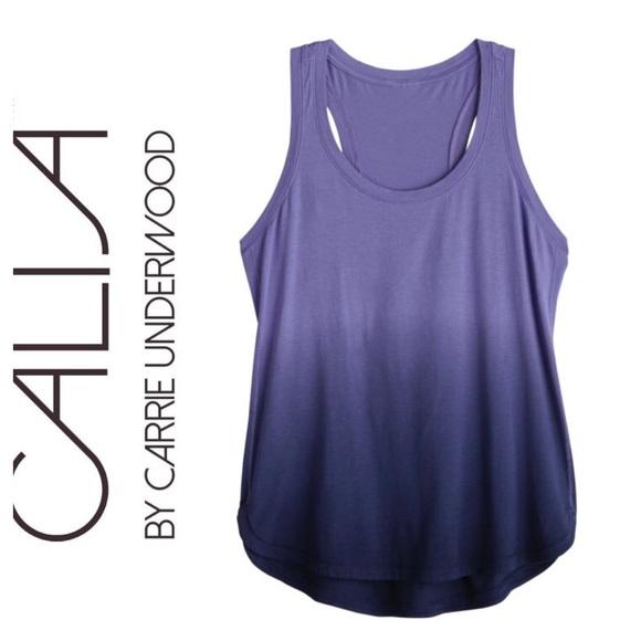 1a59897c36a New CALIA Everyday Dip Dye Tank Top Purple Vibes
